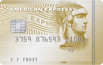 Image of the The American Express Gold Credit Card