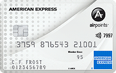 The Airpoints Card American Express Nz