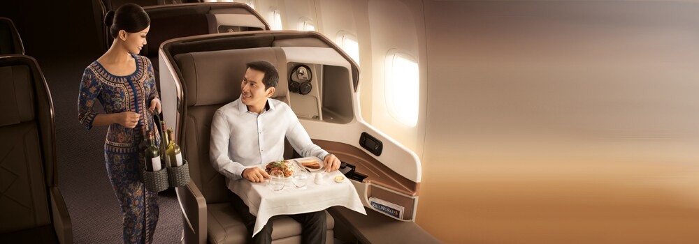 Special all-in round trip fares with Singapore Airlines and SilkAir