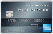 The Cathay Pacific American Express® Elite Credit Card