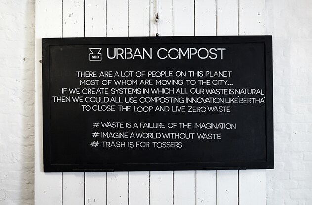 Urban Compost sign