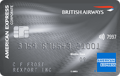 The British Airways American Express Classic Corporate Card