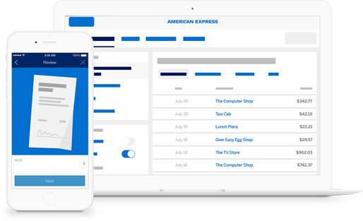 start organizing expenses in the office continue in a cab and finish at the airport with the complimentary spend managersm1 mobile app2 - 19 Small Business Expense Tracker Release