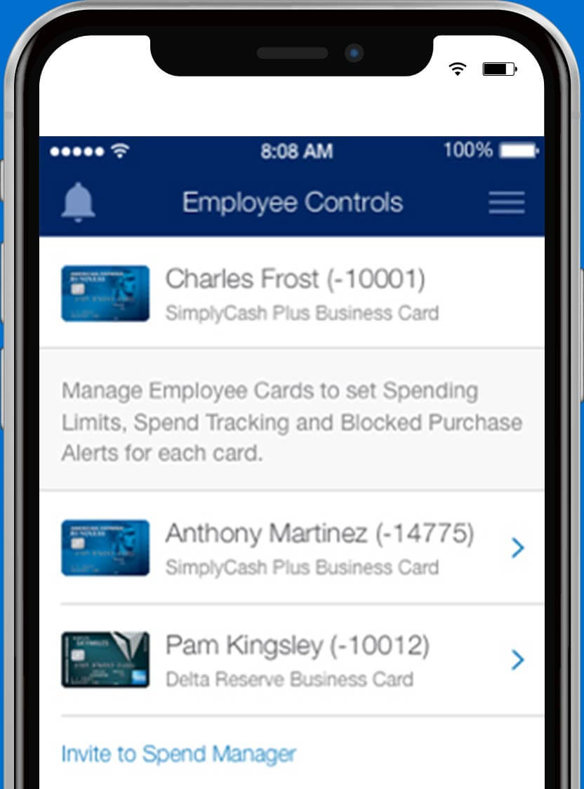 spend manager from american express expenses simplified