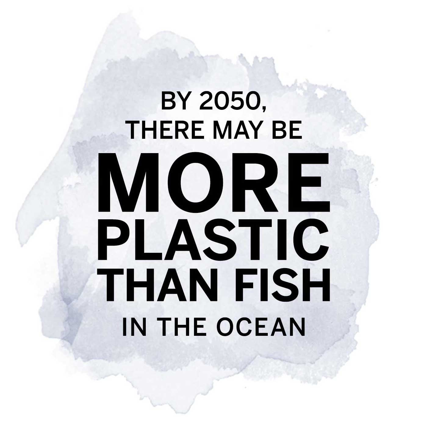 By 2050, there may be more plastic than fish in the ocean