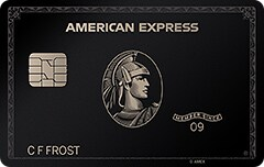 American Express Charge and Credit Card Agreements-Centurion® Card