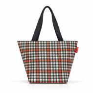 reisenthel shopper M glencheck red