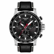 Tissot Herrenuhr Supersport Chrono, Schwarz  1256171605100