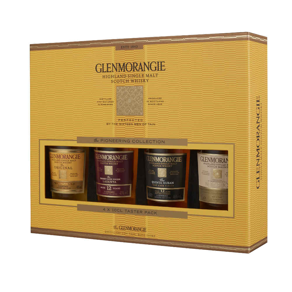 Der berühmte Glenmorangie Highland Single Malt Whisky
