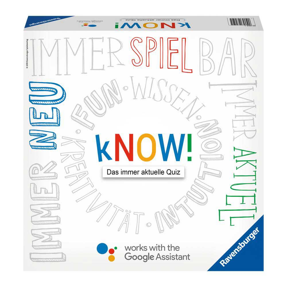 Das kreative Fun- und Quizspiel – works with the Google!