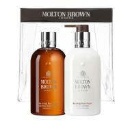 MOLTON BROWN Re-charge Black Pepper 2er Set Duschgel und Body Lotion für Herren