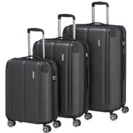 Travelite Trolley-Set City anthrazit S + M + L, 3.tlg.
