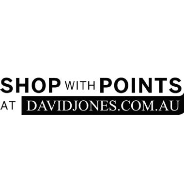 David Jones Shop with Points