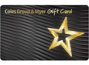 Coles Group & Myer Coles Group & Myer Gift Card