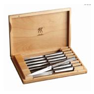 linkToText Zwilling Contemporary 8 Piece Steak Set in Wood Presentation Case detailsPageText