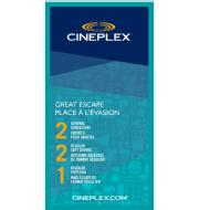 linkToText Cineplex Entertainment Great Escape detailsPageText