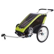 Thule Chariot Cheetah XT 1 + Cycle/Stroll (Chartreuse)