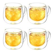linkToText Grosche Fresno Double Walled Glass Cups Set of 4 detailsPageText