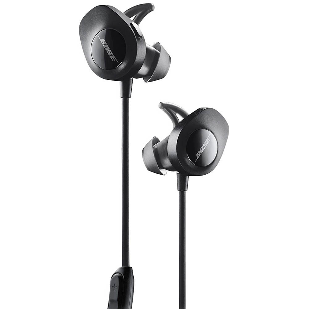 Bose® SoundSport® wireless headphones (Black)