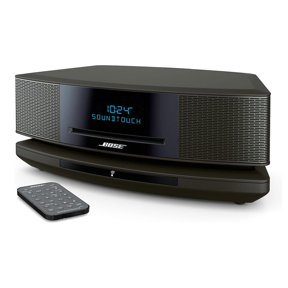 Bose<sup>®</sup> Wave<sup>®</sup> SoundTouch<sup>®</sup> music system IV (Espresso Black)