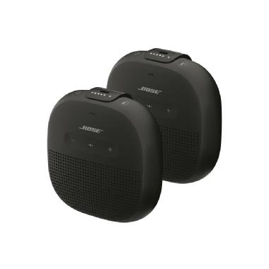 Bose<sup>®</sup> SoundLink<sup>®</sup> Micro Bluetooth<sup>®</sup> speaker Bundle of 2 (Black)