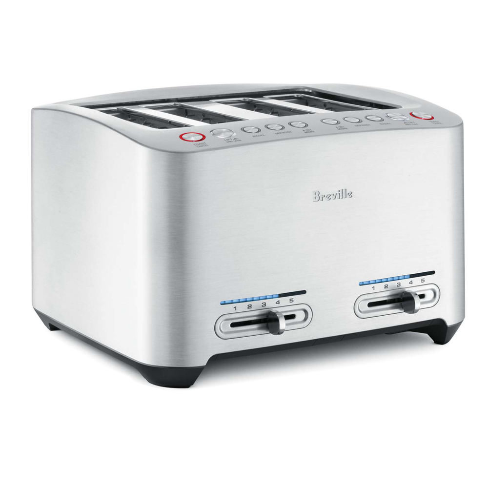Die-Cast 4-Slice Smart Toaster<sup>™</sup>