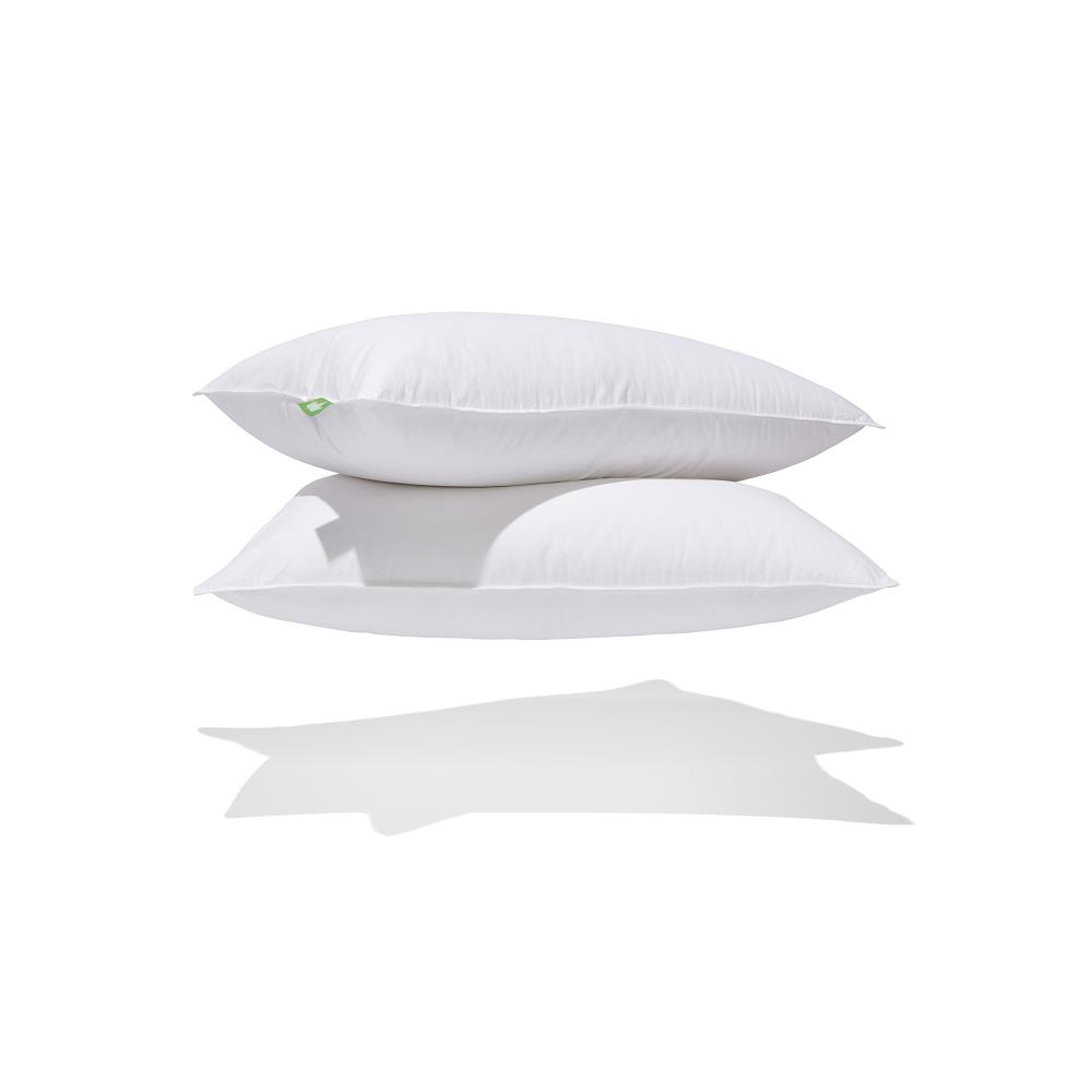 Canadian Down & Feather Pair of Medium Support Down Perfect Pillows