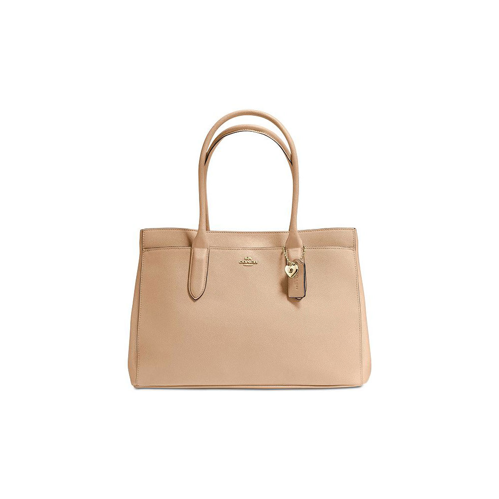 Coach Bailey Crossgrain CarryAll (Beechwood)