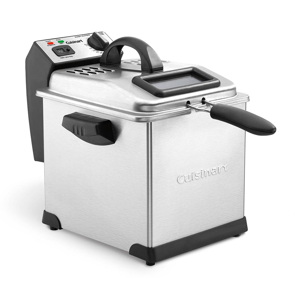 Cuisinart<sup>®</sup>  Digital 3.2 L Deep Fryer