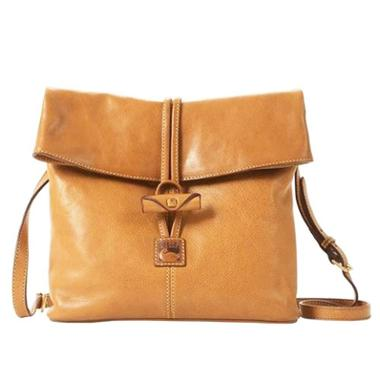 Dooney and Bourke Florentine Medium Toggle Crossbody (Natural)