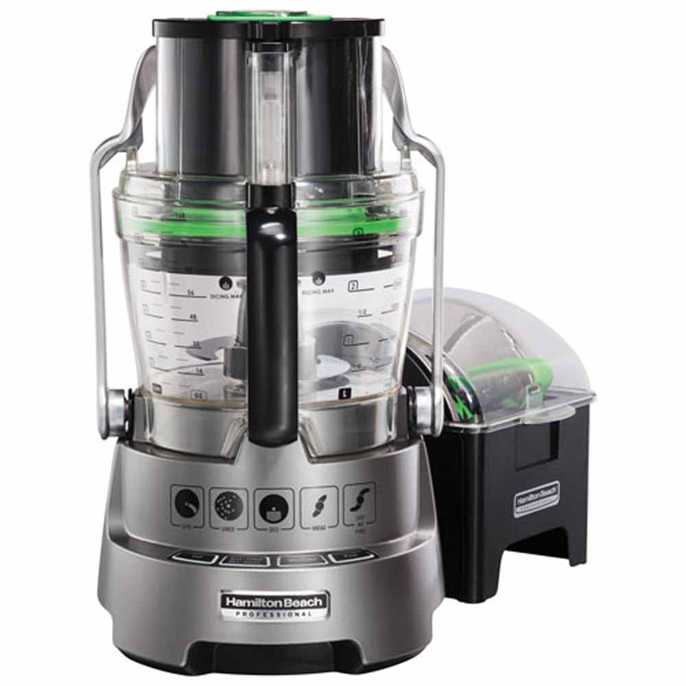 Hamilton Beach Professional Dicing Stack and Snap Food Processor