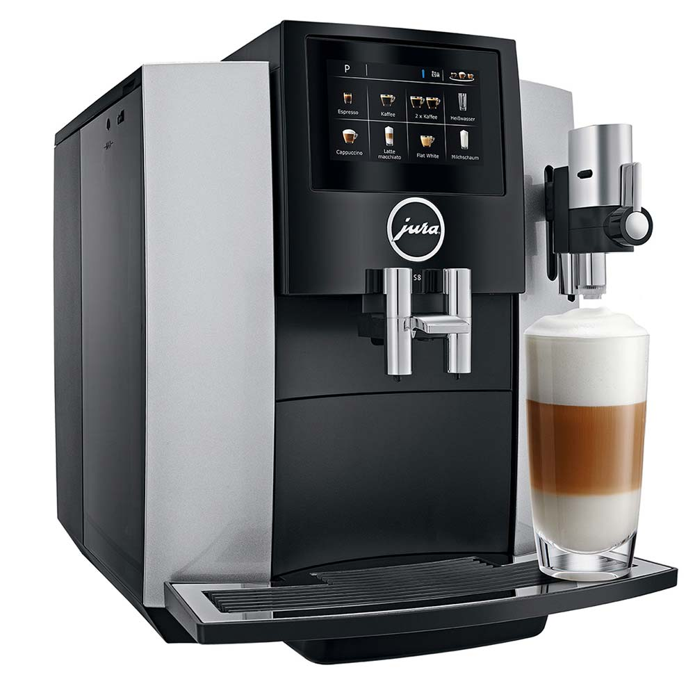JURA S8 Automatic Coffee Machine with Touchscreen-Color Display
