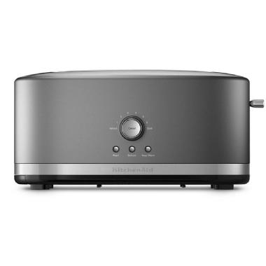 KitchenAid<sup>®</sup> 4-Slice Long Slot Toaster with High Lift Lever (Contour Silver)