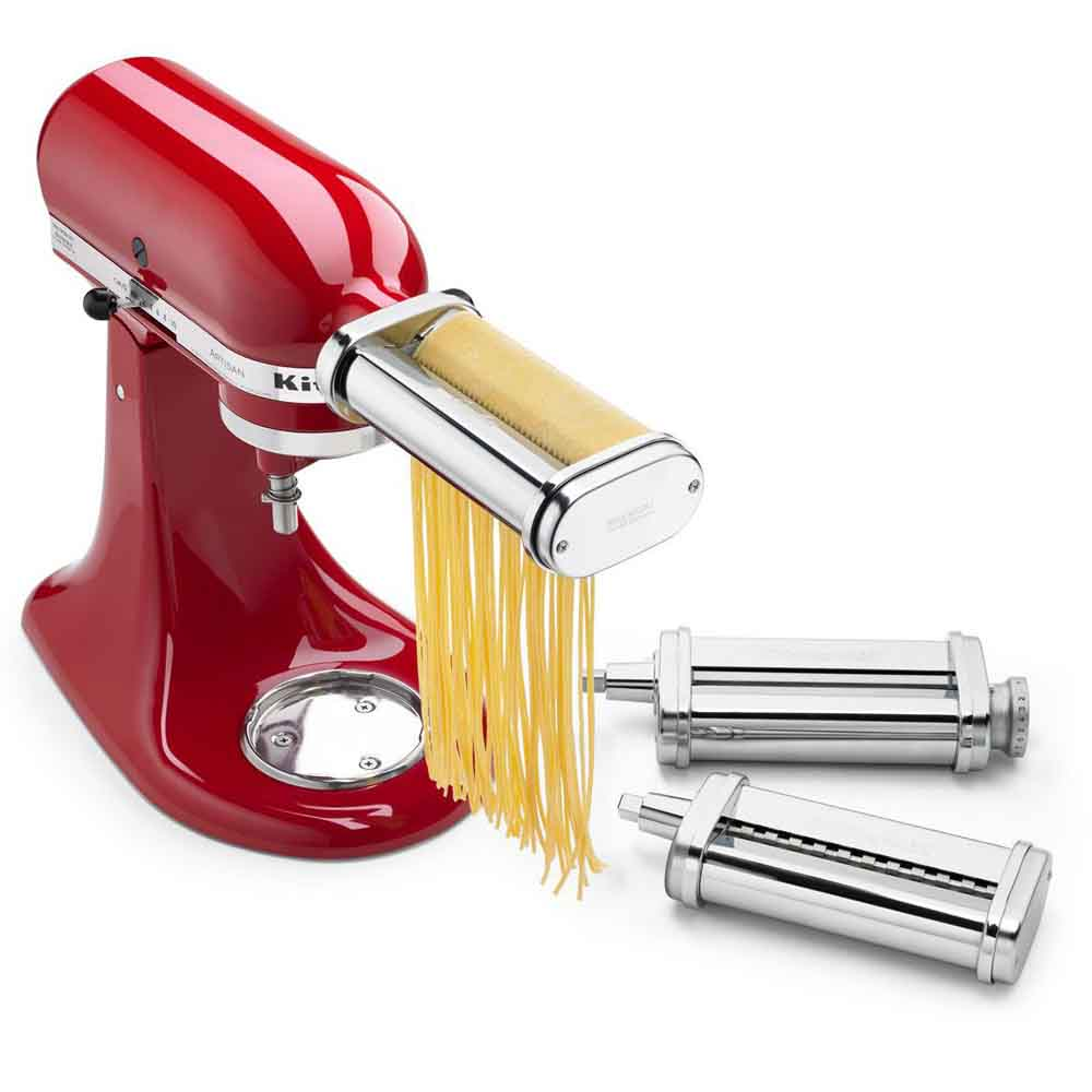 KitchenAid<sup>®</sup> 3-Piece Pasta Roller & Cutter Set