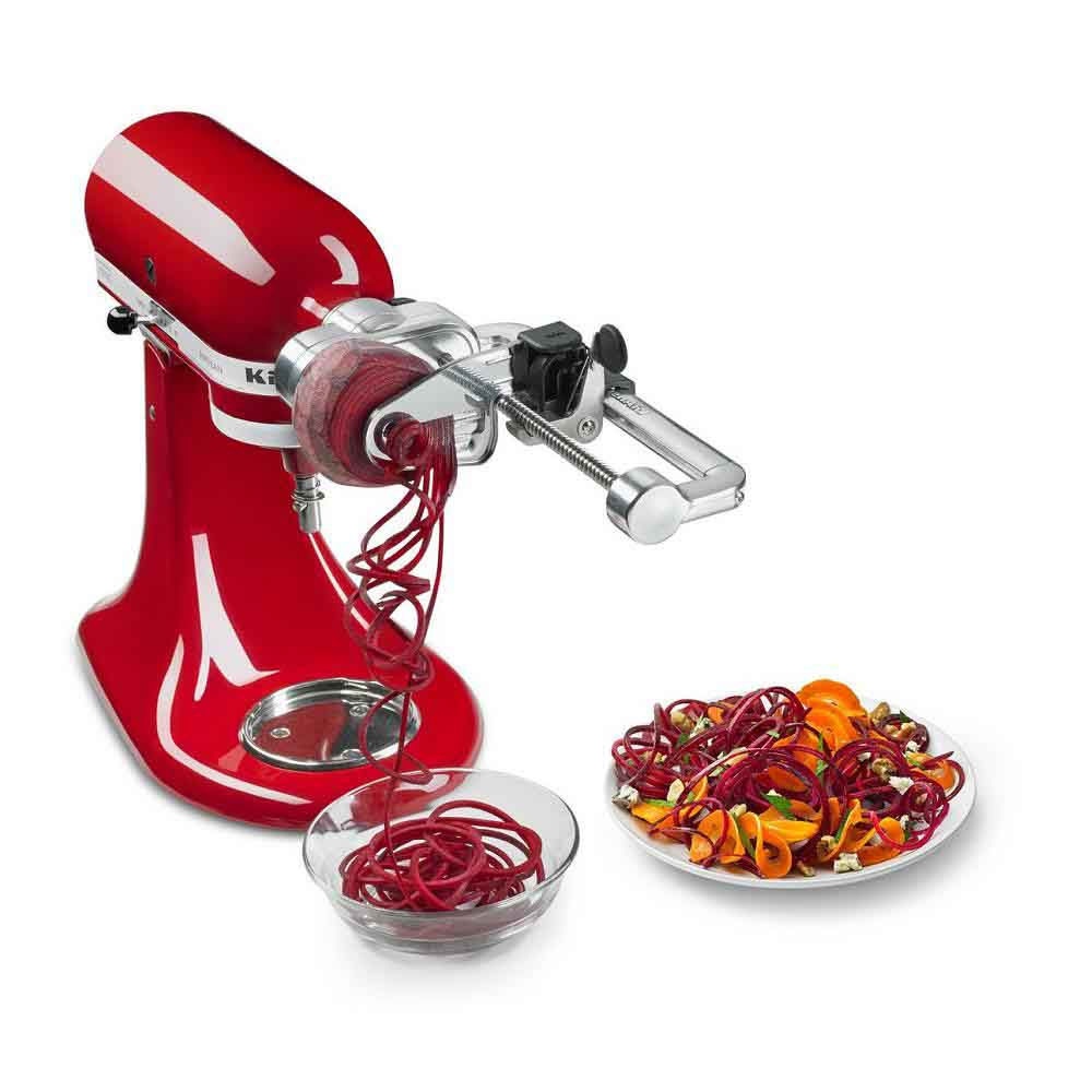 KitchenAid<sup>®</sup> 7 Blade Spiralizer Plus with Peel, Core and Slice