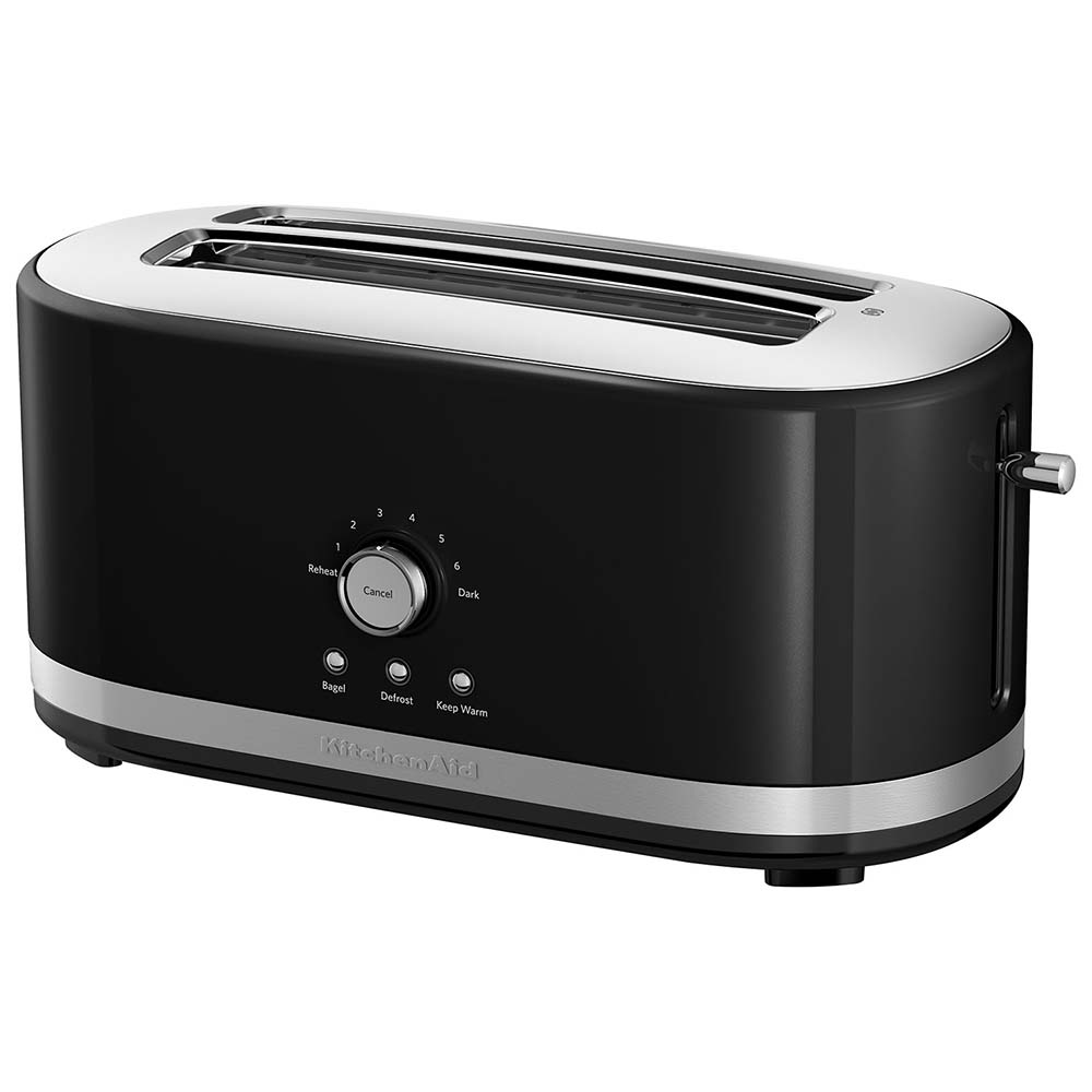 KitchenAid<sup>®</sup> 4-Slice Long Slot Toaster with High Lift Lever (Onyx Black)
