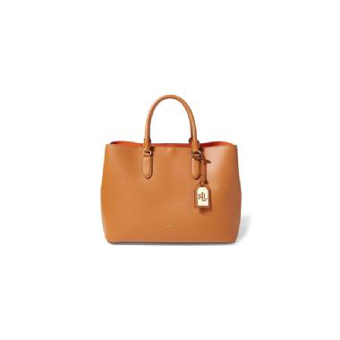 Lauren by Ralph Lauren Leather Marcy Tote