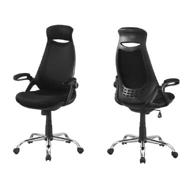 Monarch High-Back Executive Mesh Office Chair (Black)
