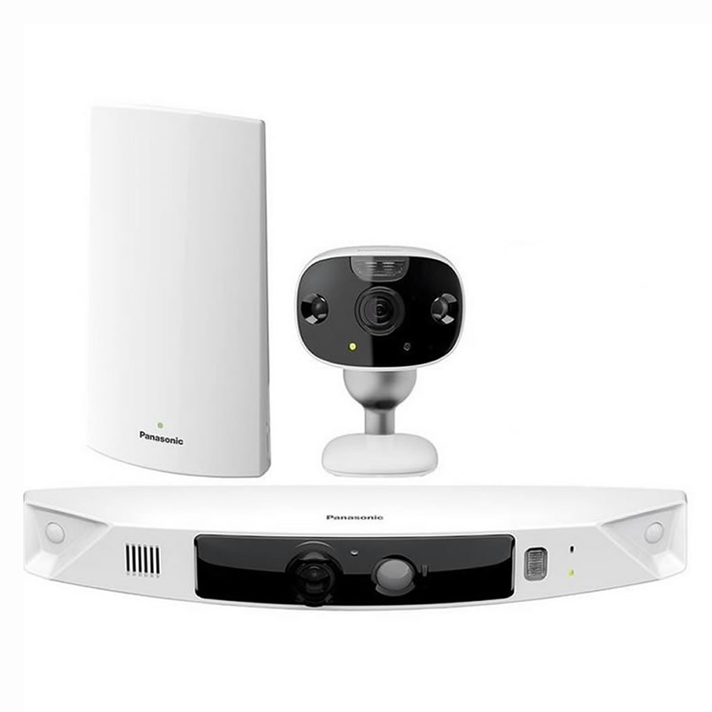 Panasonic HomeHawk Smart Home Monitoring HD Camera System