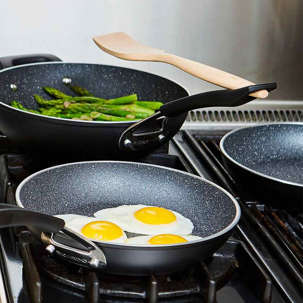 "RICARDO ""The Rock"" 10-Piece Non-stick Aluminum Forged Cookware Set"
