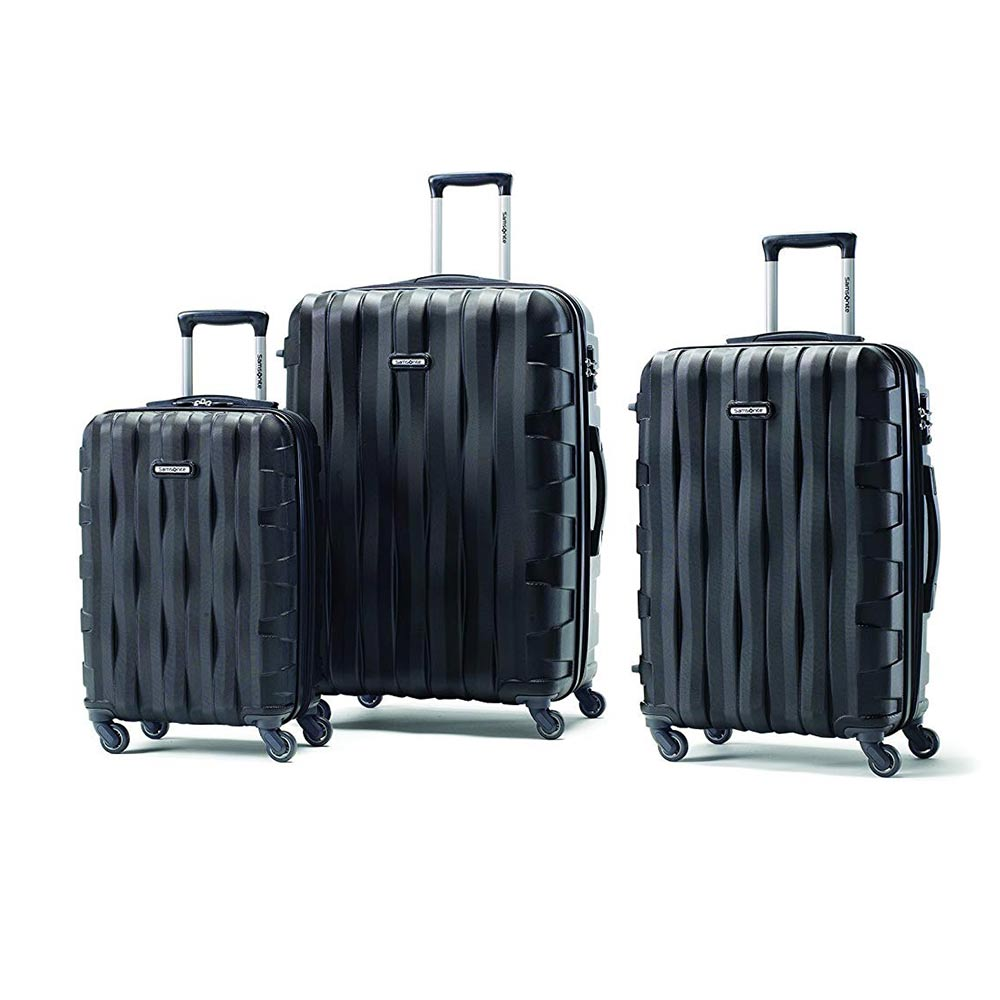 Samsonite Prestige 3D 3-Piece Nested Hardside Spinner Luggage Set - Black