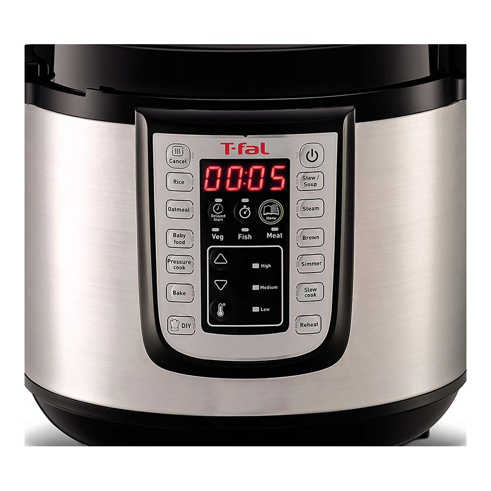 T-Fal Rapid Pro 12 in 1 Electric Pressure Cooker