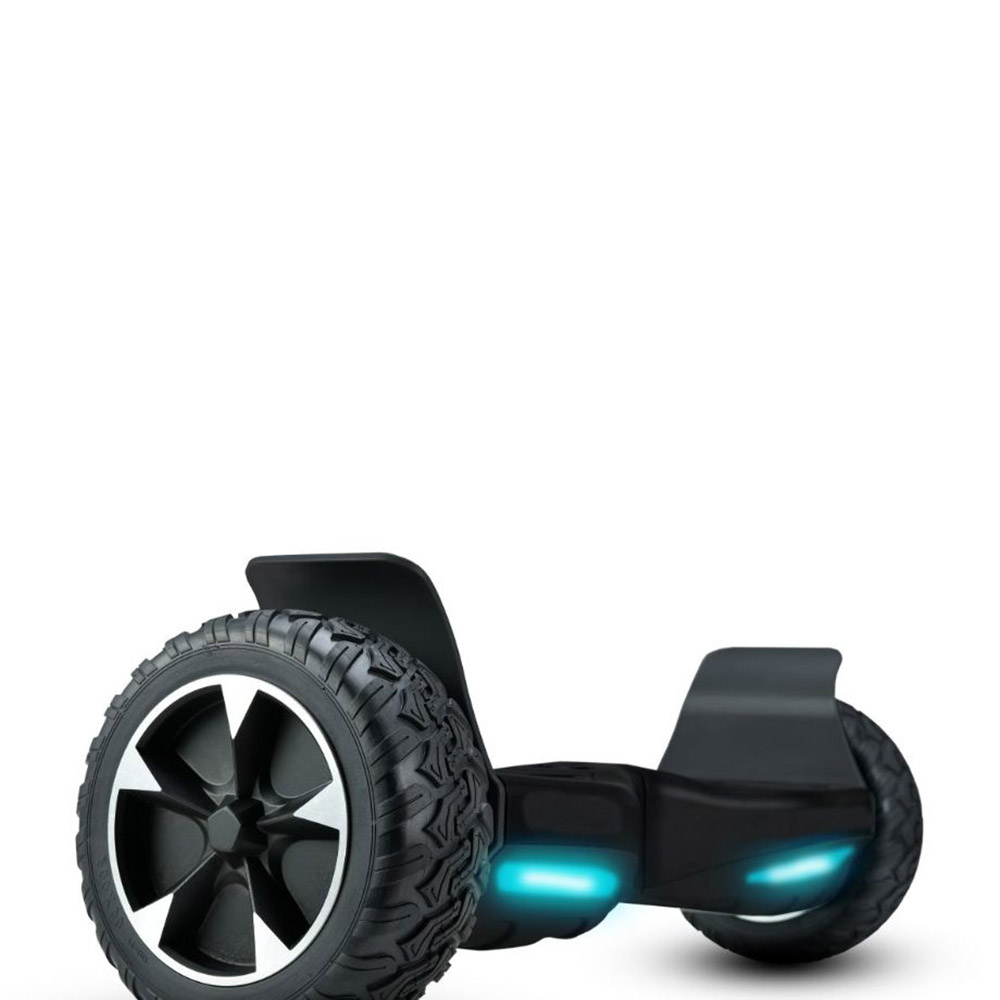 ToyTexx Hoverboard 20.34 cm Off Road Hoverboard with Front Light, Carrying Bag And Bluetooth<sup>®</sup> UL2272 Certified