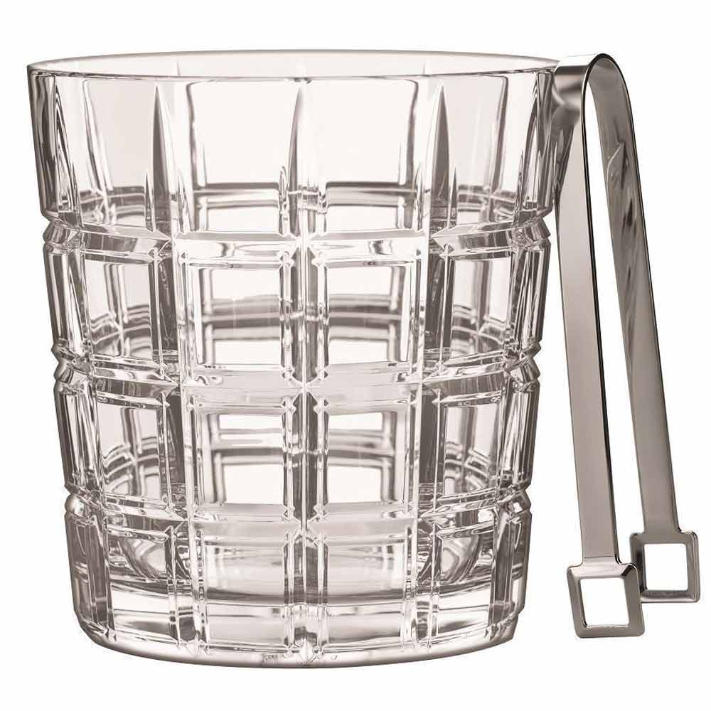 Waterford Ice Bucket & Tongs