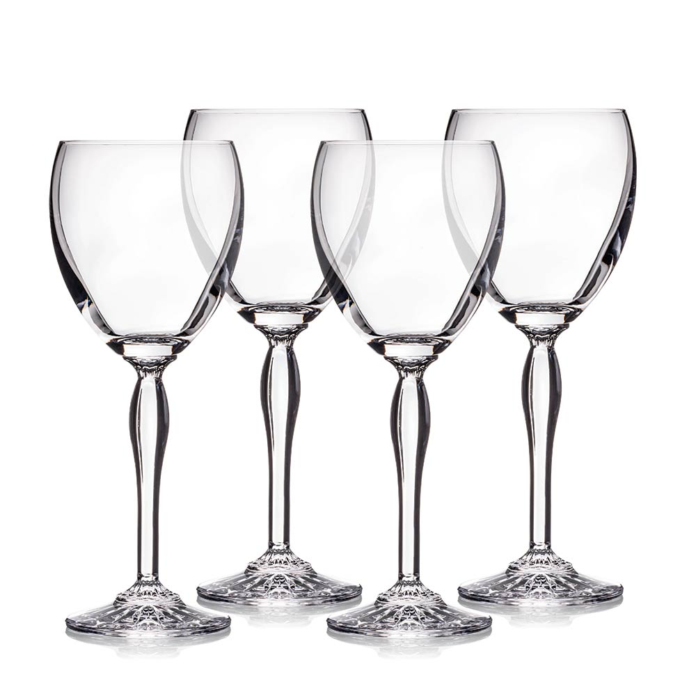 Waterford Marquis Crystal Ventura All Purpose Wine, Set of 4