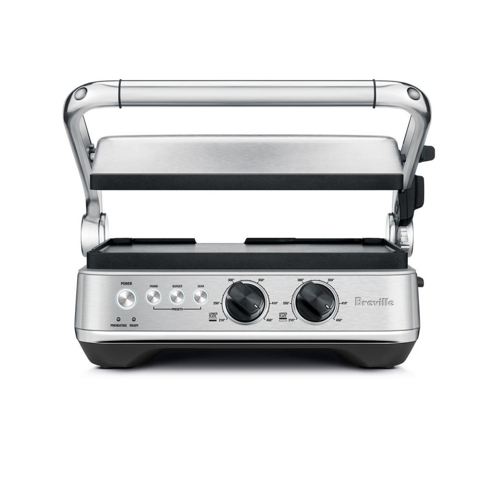 the Breville Sear & Press Grill (Brushed Stainless Steel)