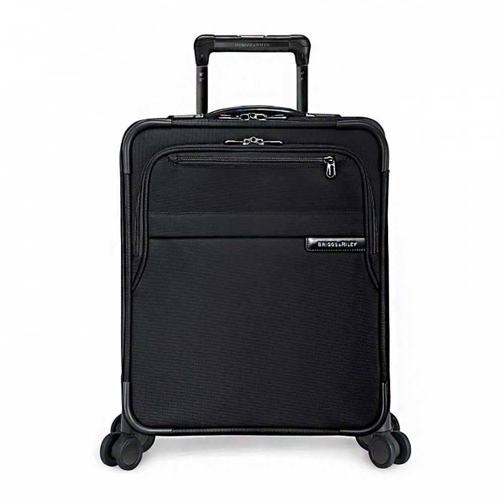 Briggs &amp;' Riley Baseline<sup>®</sup> International Carry-On Expandable Wide-Body Spinner (Black)