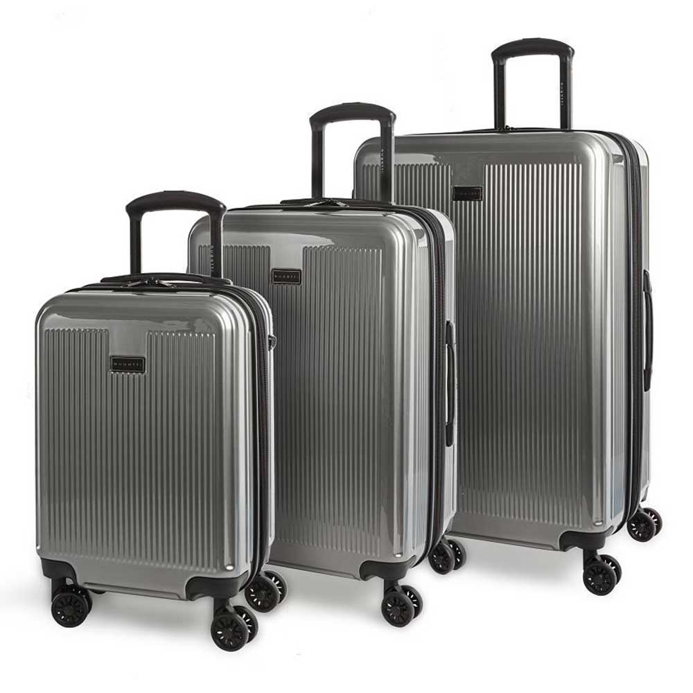 Bugatti 3-Piece Hard Side Expandable Luggage Set
