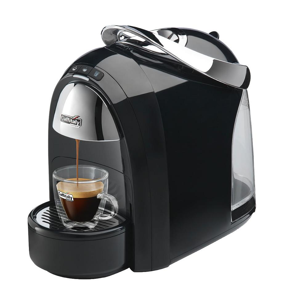 Caffitaly S18 Ambra Coffee Capsule Machine (Black)