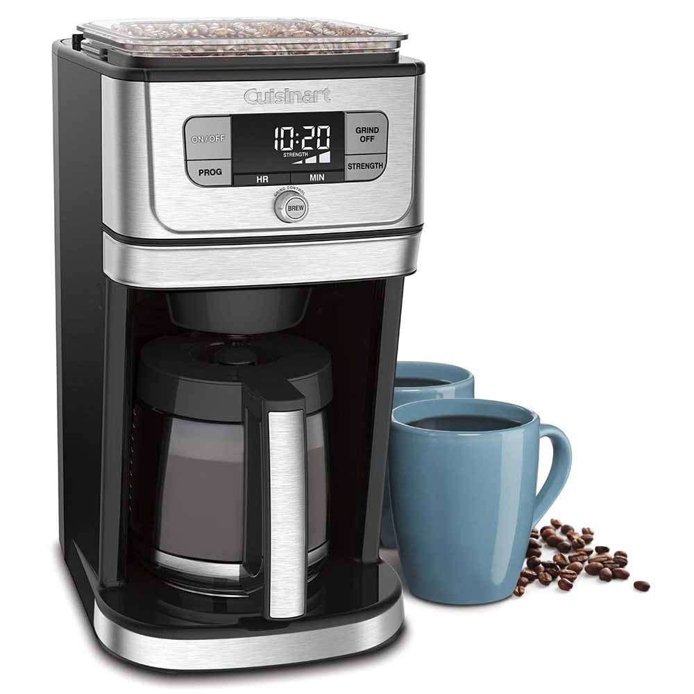 Cuisinart Fully Automatic 12 cup Burr Grind &' Brew Coffeemaker